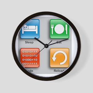 Code Monkeys Daily Planner Wall Clock