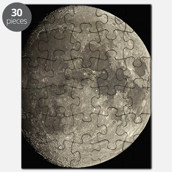 Waxing gibbous Moon Puzzle