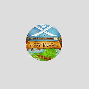 Fort Taylor Pyrate Invasion Mini Button