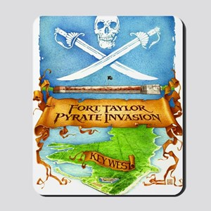 Fort Taylor Pyrate Invasion Mousepad
