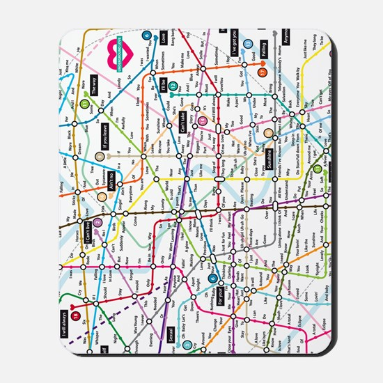 Love map Mousepad