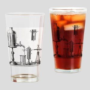 Arsenic detection, 19th century art Drinking Glass