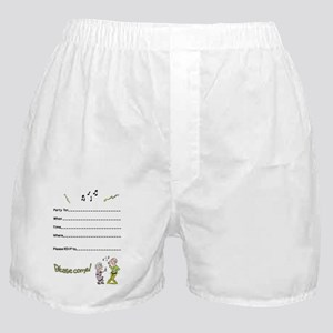 80-something party inside- dancing co Boxer Shorts