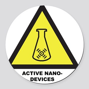 Active Nano-Devices Round Car Magnet
