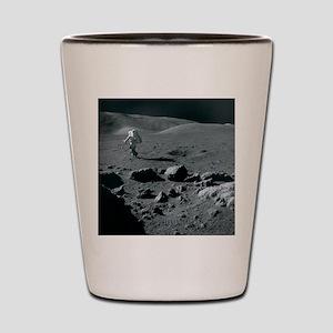 Apollo 17 astronaut Shot Glass