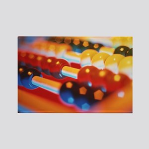 Abacus Rectangle Magnet
