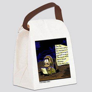 LETTER FROM HOME Canvas Lunch Bag