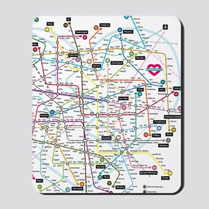 Love map Mousepad