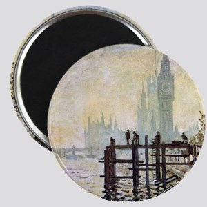 Claude Monet Westminster Bridge Magnet