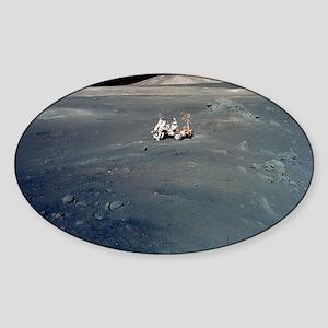 Apollo 17 astronauts Sticker (Oval)