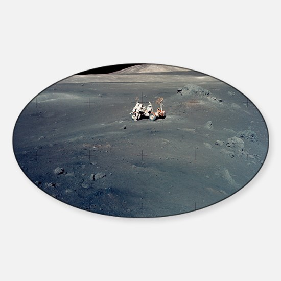 Apollo 17 astronauts Sticker (Oval)