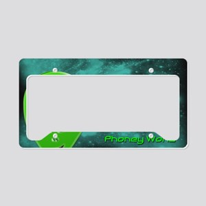 Alien Thoughts License Plate Holder