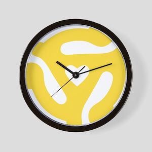 45 Record Adapter Wall Clock