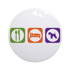 Eat Sleep Lakeland Ornament (Round)