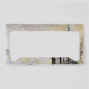 Claude Monet Westminster Brid License Plate Holder