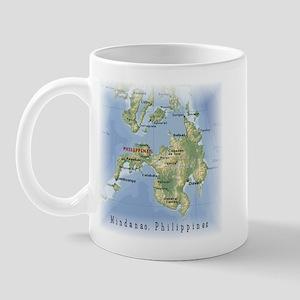 Mindanao Map Gifts Mug