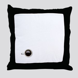 Instant Philosopher, Just Add Coffee Throw Pillow