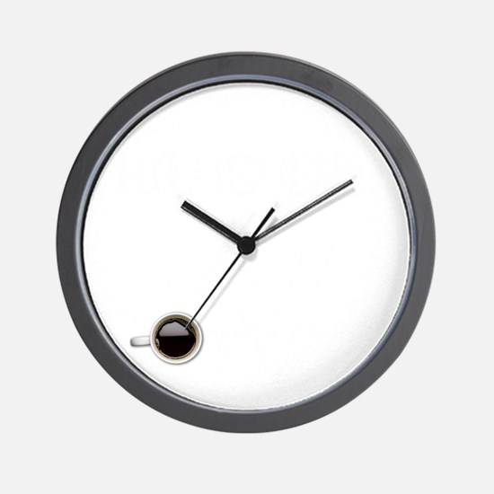 Instant Philosopher, Just Add Coffee Wall Clock