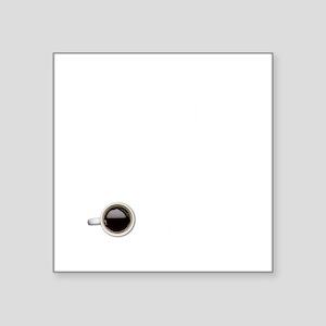 """Instant Mathematician, Funn Square Sticker 3"""" x 3"""""""