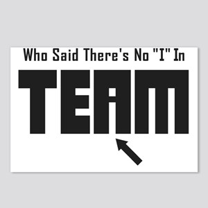 I In Team Postcards (Package of 8)
