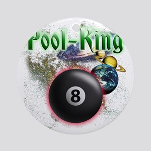 pool king Round Ornament