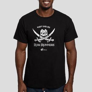 Rum Runners Men's Fitted T-Shirt (dark)