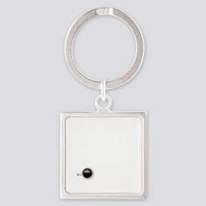 Instant Designer, Add Coffee Square Keychain