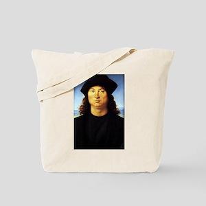 Portrait of a Man - Raphael - c1502 Tote Bag