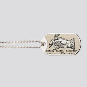 Notary Public Dog Tags