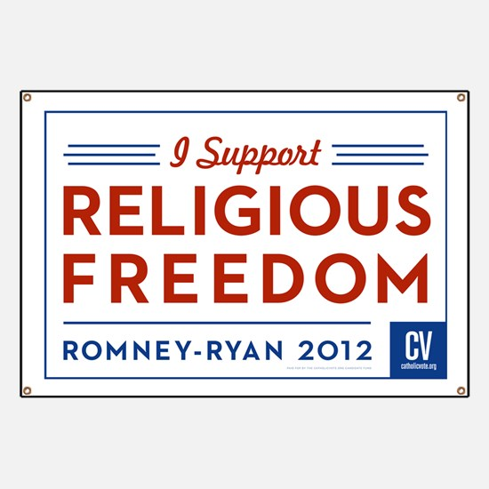 I Support Religious Freedom Banner