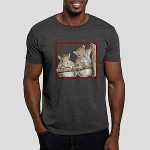 Squirrel Pencil Drawing Dark T-Shirt