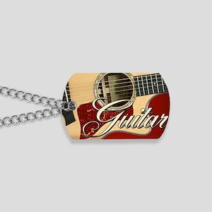 Guitar Guitarist Dog Tags