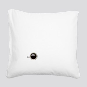 Instant Pastor, Just Add Coff Square Canvas Pillow