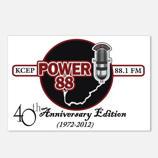 KCEP-FM 40th Anniversary Postcards (Package of 8)