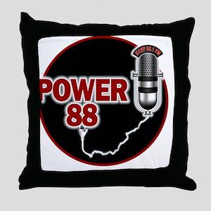 KCEP-FM Throw Pillow