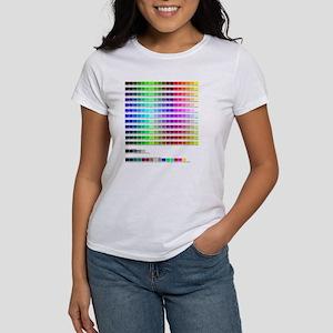 HTML Color Codes Women's T-Shirt