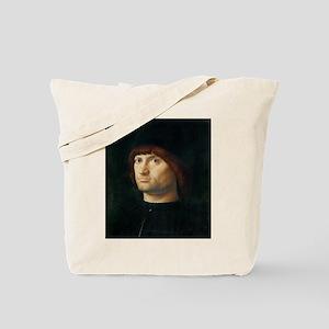 Portrait of a Man - Antonello da Messina Tote Bag