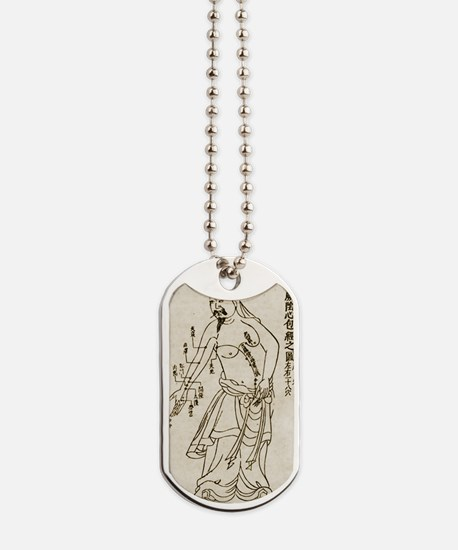 Acupuncture Acupuncturist Dog Tags
