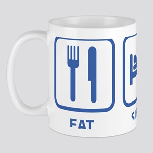 eatSleepKayak1D Mug