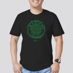 Mexico Stamp Men's Fitted T-Shirt (dark)