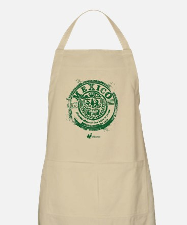 Mexico Stamp Apron