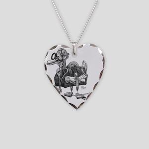 Quack Necklace Heart Charm