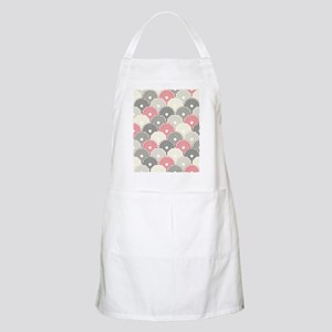 Asian Floral Pattern Apron