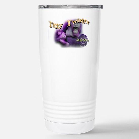 Titty Twister Stainless Steel Travel Mug