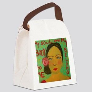 Mine Canvas Lunch Bag