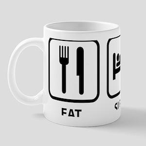 eatSleepKayak1A Mug