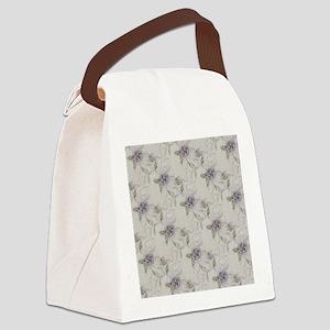 Lilacs Canvas Lunch Bag