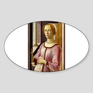 Portrait of Esmeralda Brandini - Botticelli Sticke