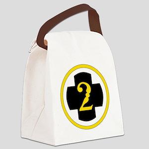 USA 2nd Medical Brigade Canvas Lunch Bag