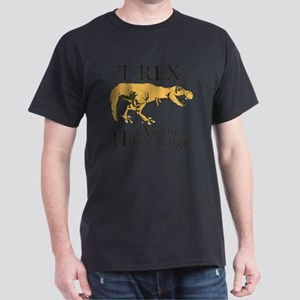 T rex, honey badger Dark T-Shirt